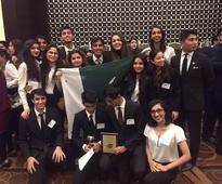 Karachi Grammar School - Best International delegation at Harvard MUN ( 249 )