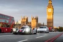 See Mark Webber Take His Porsche Across London