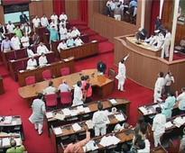 Opposition creates din in Odisha Assembly over CM's statement on Mahanadi; House adjourned till 3pm