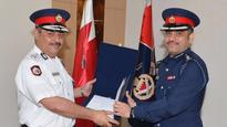 Public Security Chief receives PhD, master's degrees graduates