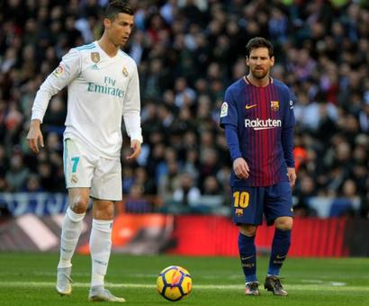 'Outrageous' Ronaldo has Messi in his sights