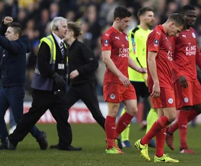 Leicester gloom deepens as Ranieri's men suffer FA Cup shock