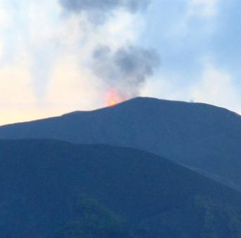 India's only live volcano is active again