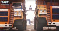 Belarusian Recreates Van Damme's Epic Truck Split, Kickboxer Disco Fight (VIDEO)