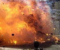 Roadside-Blast Roadside blast injures Rangers personnel in Hyderabad