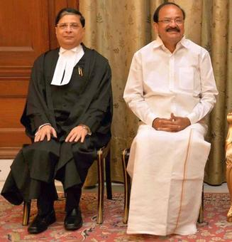 Naidu refuses to admit impeachment notice against CJI