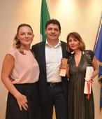 Sanchita Ajjampur as Knight of the Order of the Star of Italy