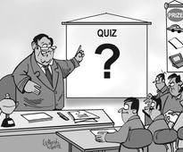 Want to go up the corporate ladder? Take part in quiz