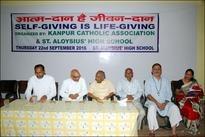 'Self-giving is life-giving' seminar held at St Aloysius Kanpur