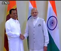 Modi meets Sri Lanka President, Bhutan PM ahead of BRICS-Bimstec Summit