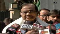 ED found nothing, so took few documents to justify themselves, says P Chidambaram