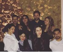 Bebo parties with Salman and Iulia Vantur