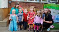 Downend nursery is rated as Outstanding by Ofsted