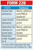 Proof of travel, rent must to get tax relief
