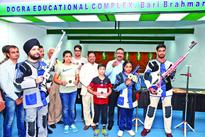 10m shooting range inaugurated at Dogra Educational Complex