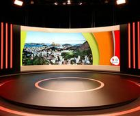 4K Screen for Rio 2016 Olympics Studio