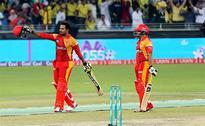 PSL T20 Qualifying Final Islamabad vs Peshawar 'live' cricket score: Afridi's Zalmi need 95 off 42 balls... Sammy out