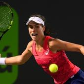 Miami Open: Johanna Konta overcomes Venus Williams challenge to see Wozniacki in final