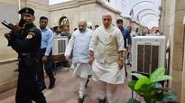 Rajnath Singh takes stock of country's security, asks forces to be on alert