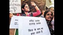 Muslim women show solidarity with Hindu women