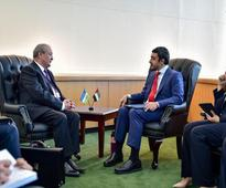 Foreign Ministers of UAE and Uzbekistan met during UN General Assembly