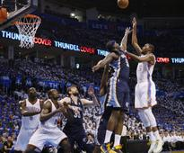 NBA: Grizzlies dominate the fourth, knot Thunder in West semis series