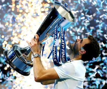 Dimitrov comes of age to win ATP Finals title