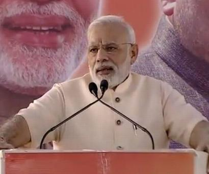 Cong faced less adversity under Brits than BJP has in Independent India: Modi