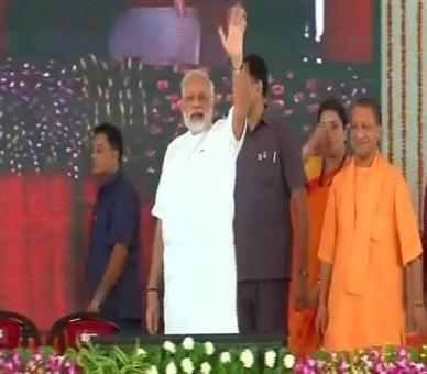 PM Modi in Varanasi after big UP victory, to launch key schemes