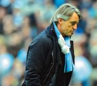 Man City sack Mancini
