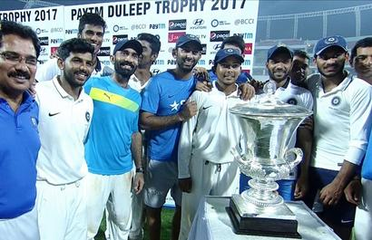 Duleep Trophy: Washington guides India Red to title triumph