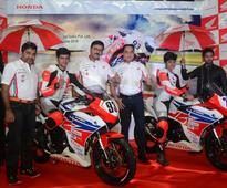 Honda Motorcycle & Scooter India unveils the road-map for 2016 motorsports season