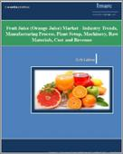 Fruit Juice (Orange Juice) Market - Industry Trends, Manufacturing Process, Plant Setup, Machinery, Raw Materials, Cost and Revenue