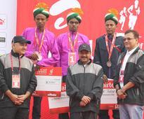 eighth edition of the world's prestigious Airtel Delhi Half Marathon (ADHM) has surpassed