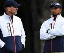 Woods, Stricker named vice captains for Ryder Cup