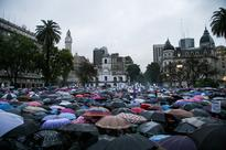 Women Across South America Protest After The Rape And Murder Of A Teenage Girl
