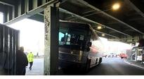 Nine injured in MTA express bus crash on FDR Drive