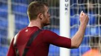 No charges over Chris Brunt coin throw