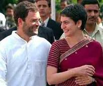 Bro Rahul Gandhi dotes on sis Priy..