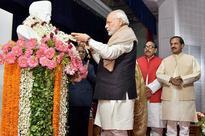 PM Narendra Modi lays foundation stone for hospital, cancer centre in Varanasi