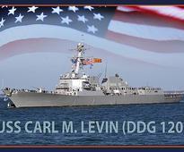 US Navy Arleigh-Burke DDG 120 destroyer to be named Carl M Levin