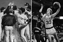 Two teams, one writer, and a legendary year in Boston sports