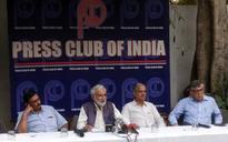Delhi: Journalists demand Vinod Verma's release