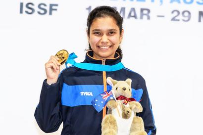 ISSF Junior World Cup: Muskan wins gold as India pip China to go top