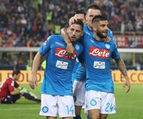 Serie A: Inter, Napoli join Juventus on top of the table with wins, Ciro Immobile's hat