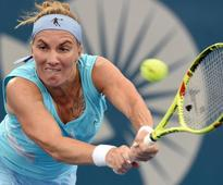 Tennis-Kuznetsova opens Sydney defence with win, seeds withdraw