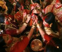 Mamata saris the rage in Kolkata this Durga Puja