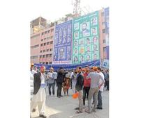 Polling day: Enthusiastic voters throng to cast votes