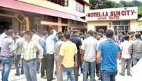 Four commit suicide in city hotel