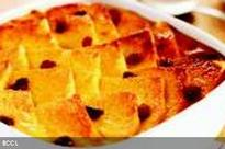 Terence Lewis' bread pudding
